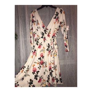 Dresses & Skirts - Wrap Front Skater Dress